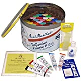 Aunt Martha's 41cm by 30cm by 15cm Fully Stocked Ballpoint Paint Storage Case, Fully Loaded with Paints and Accessories