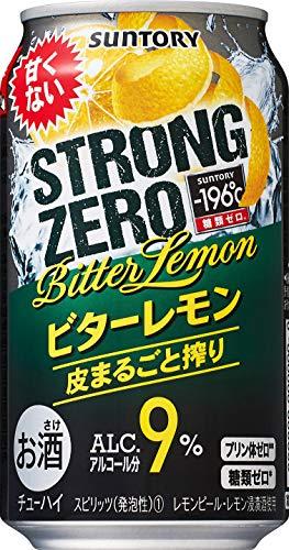 サントリー-196℃ ストロングゼロ ビターレモン [ チューハイ 350ml×24本 ]