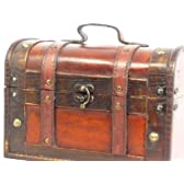 海賊風 アンティーク 宝箱 収納ケース おもちゃ箱