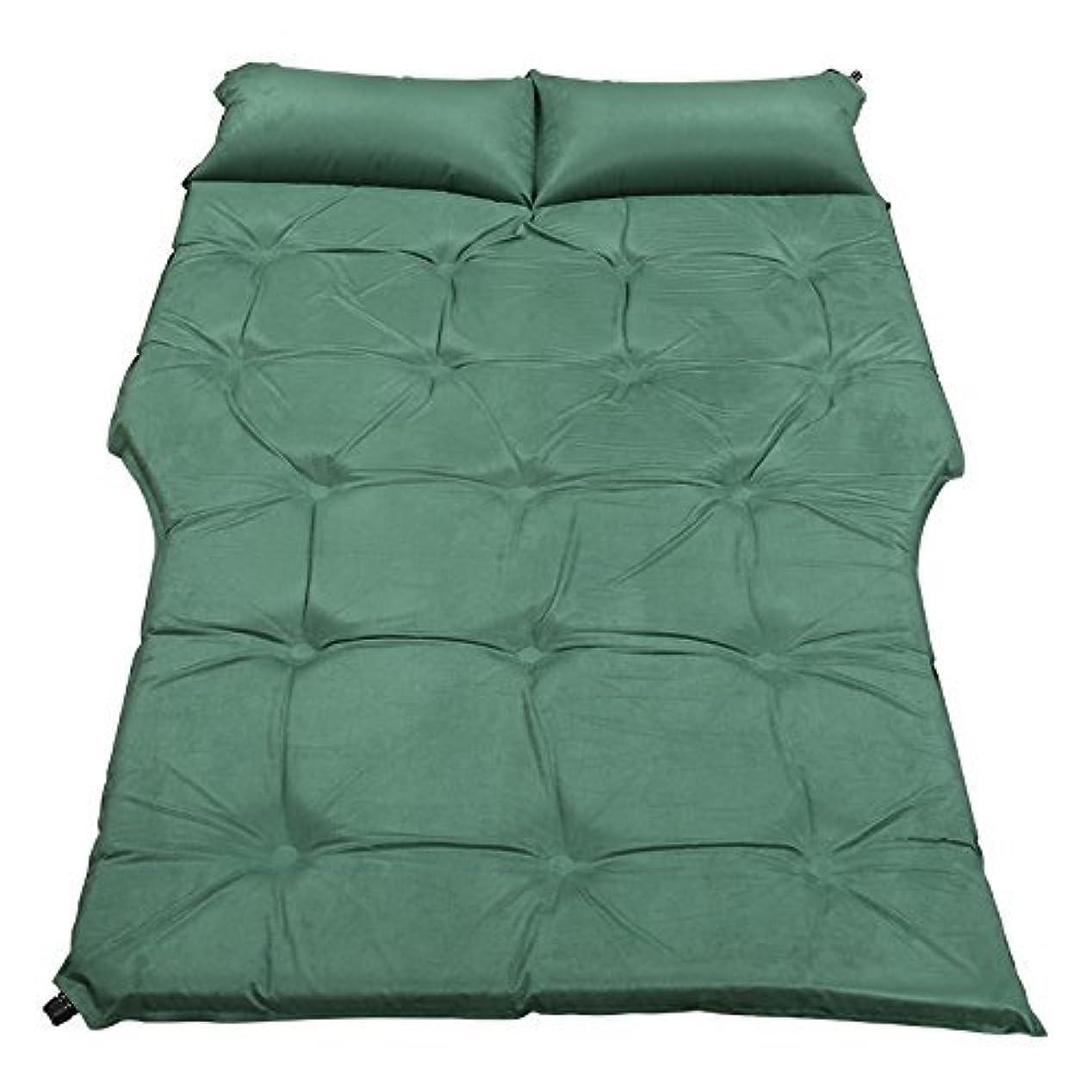 市民ラテン星膨脹可能なベッドSuv車のベッド、屋外の睡眠のマット旅行ベッドの車のマットのキャンプの湿気防止のパッドの休暇の車の供給ポータブル折りたたみ190 * 126 cm