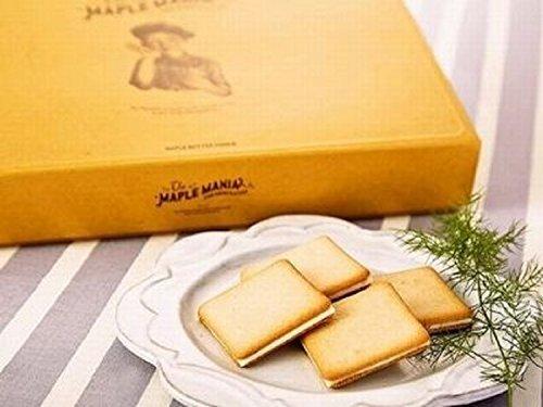 メープルマニア メープルバタークッキー (18枚入り)