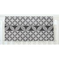 KESS InHouse Nick Atkinson Diamond Black Fleece Baby Blanket 40 x 30 [並行輸入品]