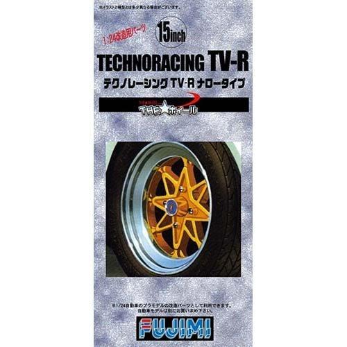 フジミ模型 1/24 THE★ホィールシリーズ TW36 テクノレーシング TV-R ナロータイプ
