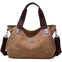 Messenger Bag Casual Handbag Canvas Tote Bags For Women Shoulder Bag Lady Girls Student School Work Travel Shopping Bag