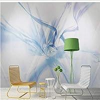 Wuyyii モダンスタイルの壁紙立体3D壁画カスタム写真壁画抽象芸術絵画壁ペーパー用リビングルーム家の装飾-200X140Cm