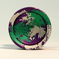 YoYoFactory Cyborg Yo-Yo - Purple Green and Silver by YoYoFactory [並行輸入品]
