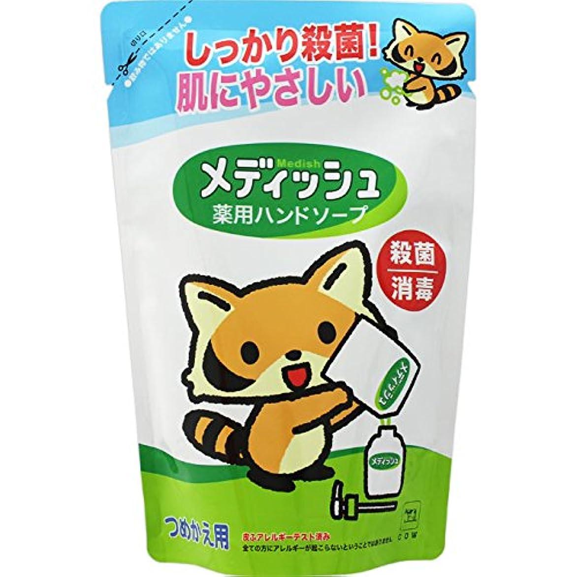 堤防過敏な換気する牛乳石鹸共進社 メディッシュ薬用ハンドソープ 詰替え 220ml
