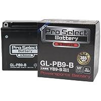 プロセレクト バイクバッテリー GL-PB9-B (YB9-B 互換)(ジェルタイプ 液入) 1個