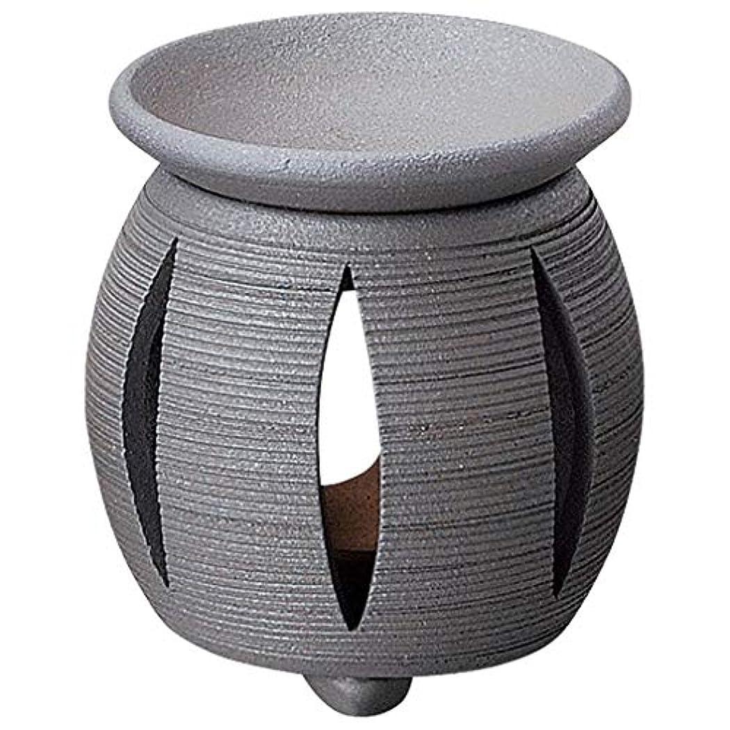 いろいろ鎖関連する常滑焼 G1714 茶香炉  径11×11.5cm