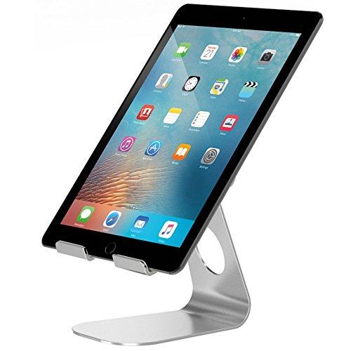 タブレット スタンド  ipad スタンド  Pasonomi 角度調整可能 ipad proスタンド Nintendo Switch/iPad mini/アイフォン/iPhone/Samsung S3 S4 S5 S6 S7/Sony/Nexusv(シルバー)