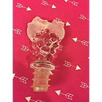 Clear Acrylic Grapes Wine Bottle Stopper