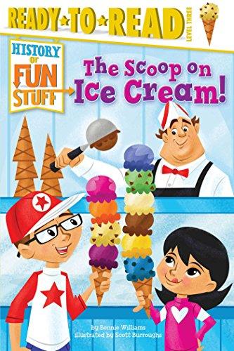 amazon the scoop on ice cream history of fun stuff bonnie