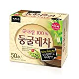 (Nokchawon) 緑茶園 ドングレ茶 50袋 /韓国茶, 粉末ティー, 粉末ドリンク, 粉末ティー, 粉末ドリンク