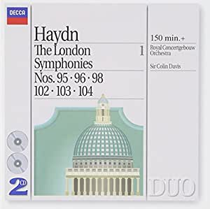 London Symphonies Vol. 1: 95 96 98 102 103 104