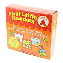 Scholastic First Little Readers Pack A (25 Books) with CD ファーストリトルリーダーズ・ボックスセットA (25冊・CD付き)
