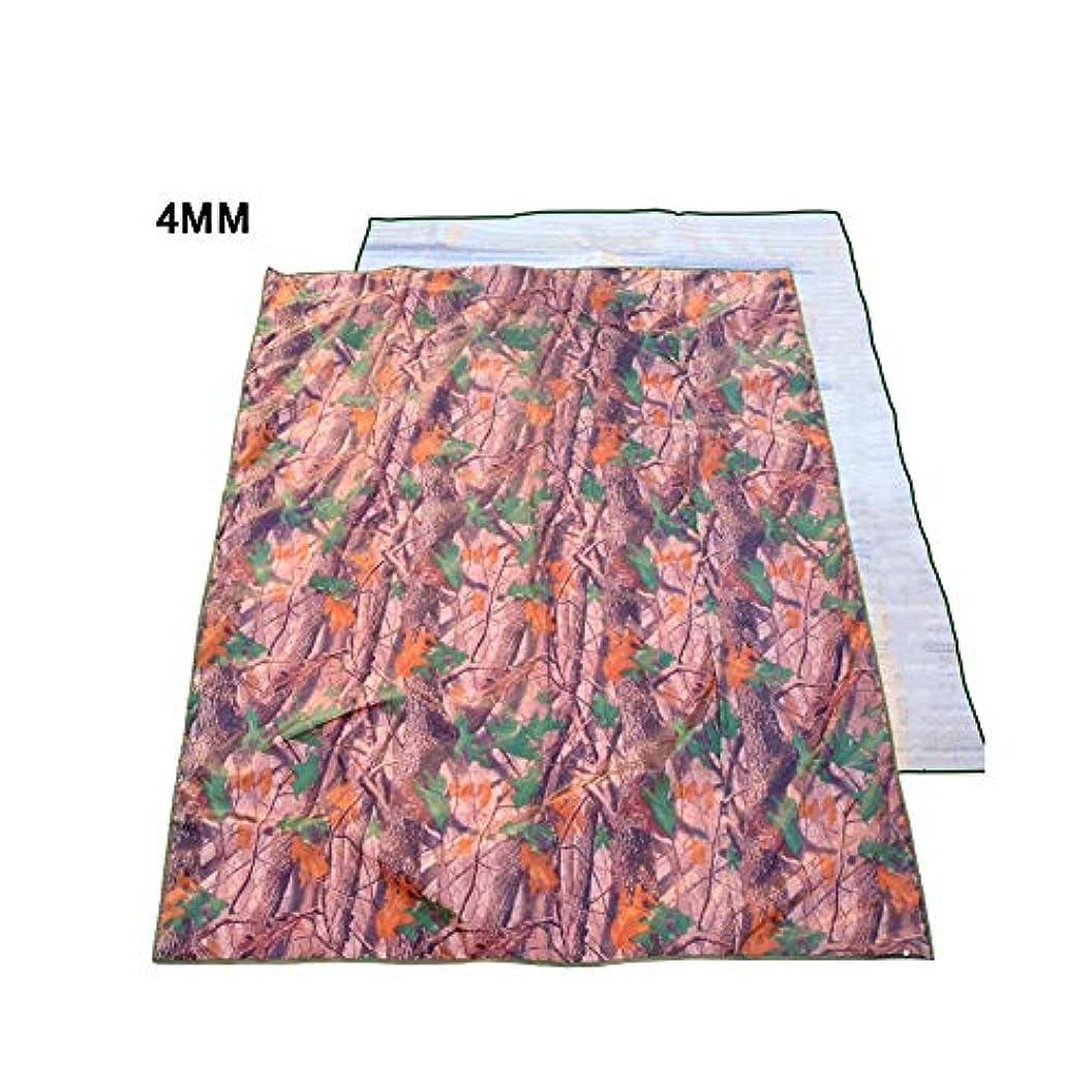 性格アルコール柱キャンプマットマット?パッド 大型屋外ピクニック毛布敷物アルミフィルムビーチ毛布防湿マットオックスフォード布7ミリメートル防水パーフェクト用ビーチ旅行祭キャンプ (Color : A, Size : 2X1.5M)
