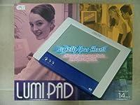光るウェルカムボード/14インチ ルミパッド (A4パープル) LUMIPAD