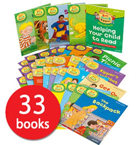 Oxford Reading Tree『Read With Biff, Chip And Kipper』Level(Stage) 1?3 33冊セット