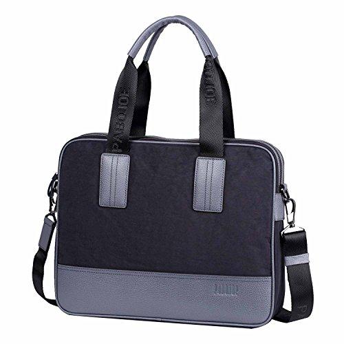 [パボジョエ]Pabojoe バッグ 肩掛け pcトートバッグ カバン 手さげバッグ ショルダー (ブルー)