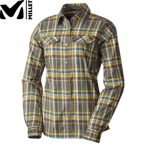 MILLET ミレー LD QD CEREDA CHECK LS SHIRT レディース シャツ 長袖 (7531):MIV01404