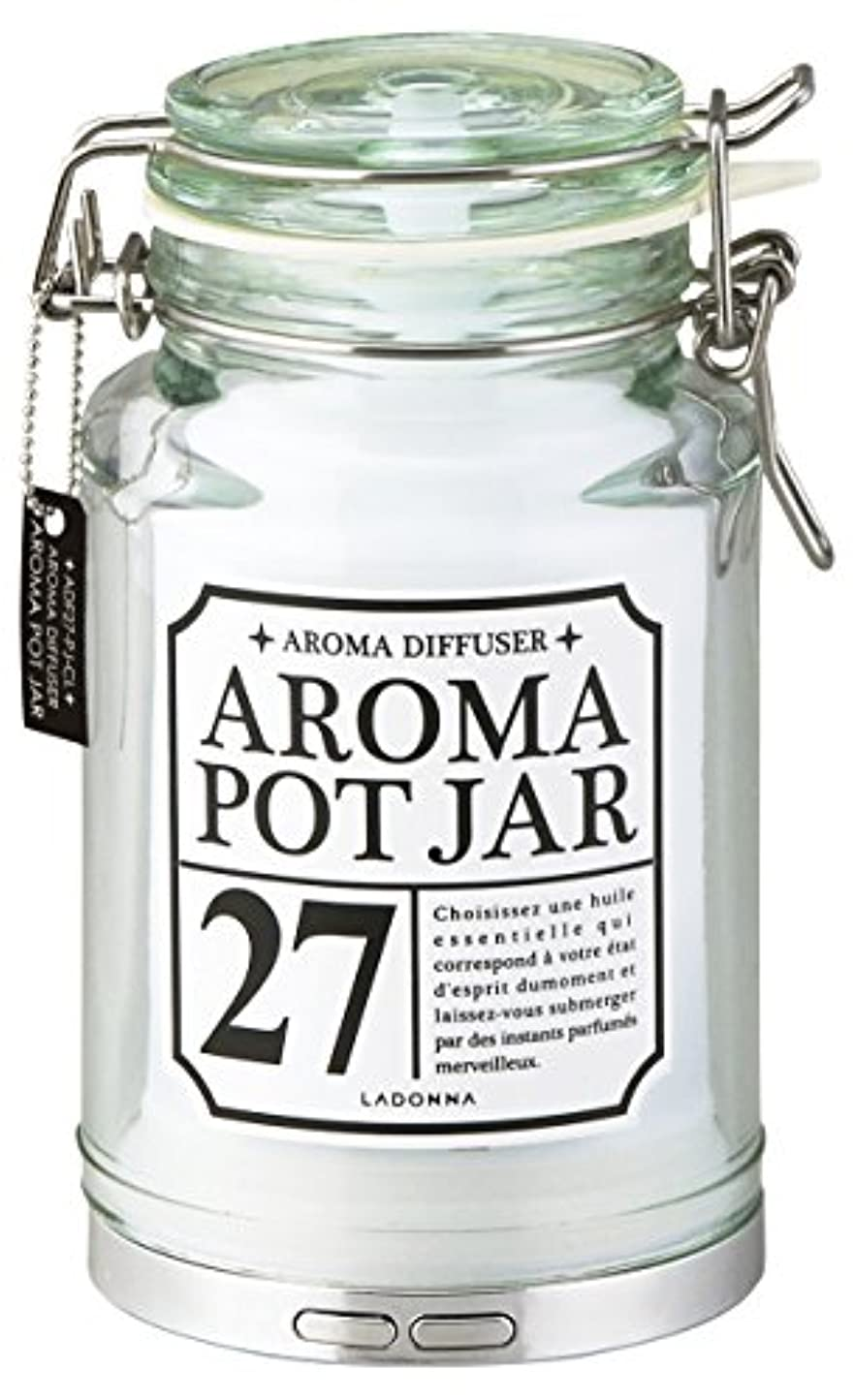 伝導率チャーミング麺ラドンナ アロマディフューザー ポットジャー ADF27-PJ-CL クリア