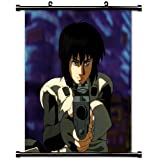 """Ghost in the Shellアニメファブリック壁スクロールポスター( 32"""" x 32"""" )インチ。[ WP ] -ghost in the shell-15( L )"""