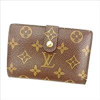 [ルイヴィトン] Louis Vuitton がま口財布 二つ折り財布 男女兼用 ポルトモネビエヴィエノワ M61663 モノグラム 中古 Y4730