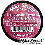 Mia Secret アクリルパウダー - カバーピンクサイズ - 1/2オンス