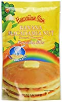 Hawaiian Sun Banana Macadamia Nut Pancake Mix 170g ハワイアン サン パンケーキミックス 海外直送品