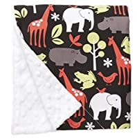 Baby Elephant Ears Ultra Soft Baby Blanket (Large (27x29), Zoology Red) by Baby Elephant Ears
