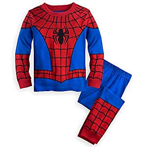 ディズニー (Disney) マーベル スパイダーマン コスチューム 長袖パジャマ 上下セット ルームウェア 子供 キッズ 男の子 (3歳 95-100cm) [並行輸入品]