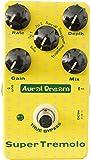 Aural Dream Super Tremolo ギターの効果 ろく付きの波形、含む速度、深さと利得制御効果器、 本当にバイパス