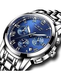 メンズ フアッション プレミアム腕時計 防水 コマース カジュアルストラップ ウォッチ クオーツ時計