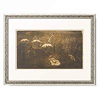 ポール・ゴーギャン Eugene Henri Paul Gauguin 「The Universe Is Created, ca. 1893-1894.」 額装アート作品