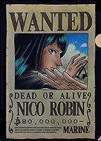 『ONE PIECE ANIMATION 10th ANNIVERSARY』ローソンオリジナル ワンピース クリアファイル 【7.ニコ・ロビン】(食玩)