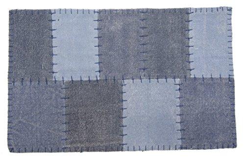 萩原 インド綿マット ロメンソ 約45×75cm 1枚