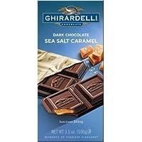 ギラデリ チョコレート海塩キャラメル (3 パック Dark Chocolate Sea Salt Caramel (Pack of 3)