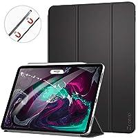 Ztotop iPad Pro 10.5 ケース 2018、ウルトラスリム ミニマリストスマートケース、オートスリープ/ウェイク フルボディ保護ケース Apple iPad Pro 10.5インチ 2018用 ブラック A0011-10.5