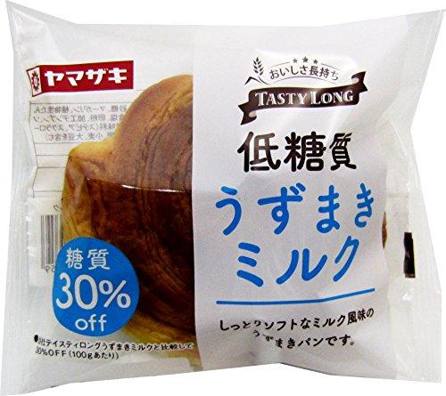 ヤマザキ テイスティロング 低糖質うずまきミルク12個セット