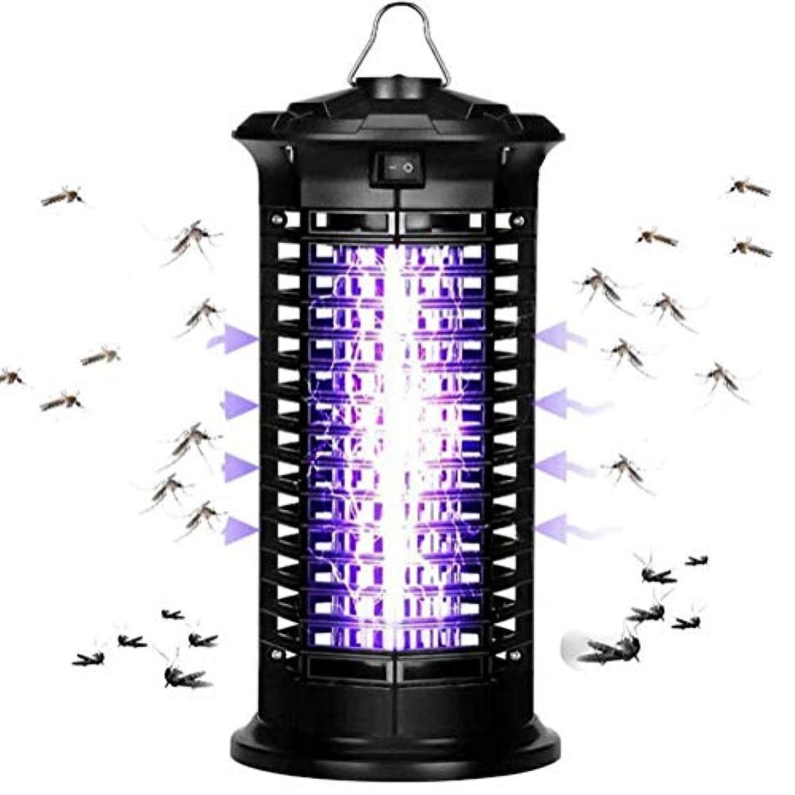 企業引数チャーター電子バグザッパー昆虫蚊キラー - 2019アップグレード超静か静かな放射線LEDライト光触媒フライバグディスペラー