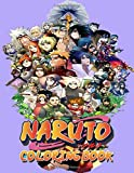 Naruto Coloring Book: Ultimate Color Wonder . Ideal For Kids And Adults To Inspire Creativity And Relaxation With 50+ Coloring Pages Of Naruto, Sasuke, Kakashi, Jiraiya, Itachi....