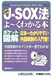 ポケット図解 最新J-SOX法がよ~くわかる本 (Shuwasystem Business Guide Book) 画像