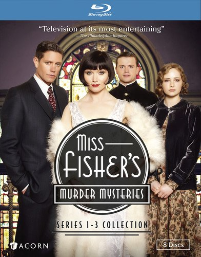 Miss Fisher's Murder Mysteries: Series 1-3 [Blu-ray] [Import]