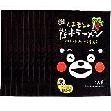 五木食品 ミニくまモンの熊本ラーメン黒辛子高菜入り 99g×10個