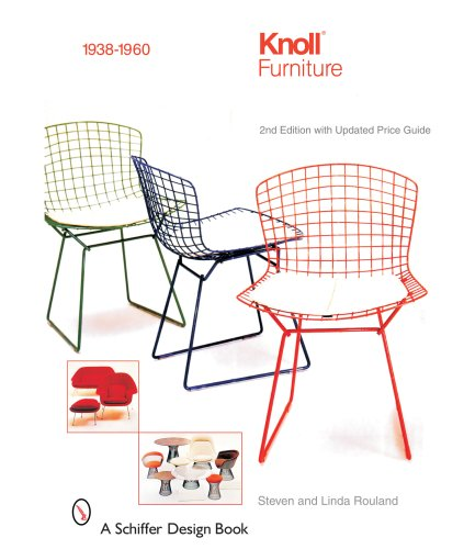 Knoll Furniture: 1938-1960 (Schiffer Design Books)