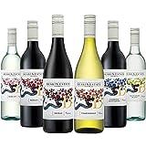 【Amazonワインエキスパート厳選】オーストラリア主要品種飲み比べ赤・白750ml×6本セット [オーストラリア/赤ワイン/辛口/フルボディ/1..