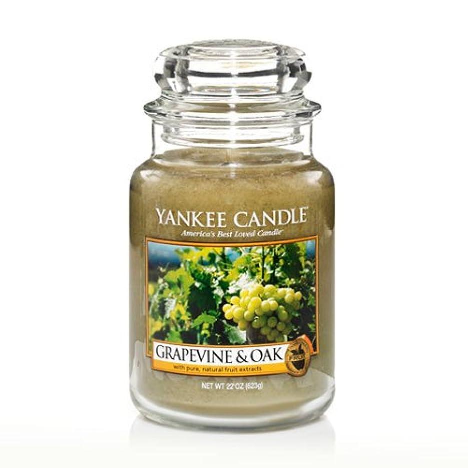 表示漁師指定Yankee Candle Grapevine & Oak & $ 153 ;、ワイン香り Large Jar Candle グリーン 1221441