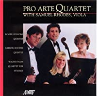 Pro Arte String Quartet