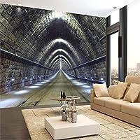 Lcymt カスタム壁紙壁画任意サイズの写真3D寸法延長時空トンネルレストラン背景壁画-120X100Cm