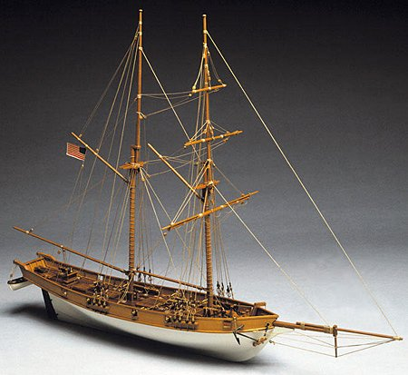1035 輸入木製帆船模型 マンチュア モデル 771 アルバトロス